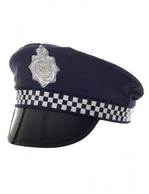 Navy Blue Police Officer Costume Accessory Hat