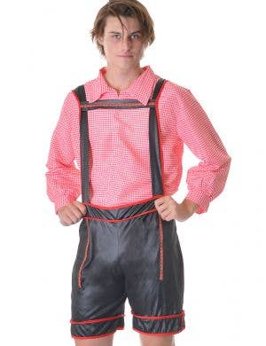 Bavarian Beer Man Red Oktoberfest Men's Costume