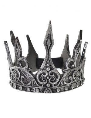 Antique Silver Foam Latex Costume Crown