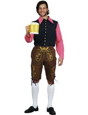 Traditional Bavarian Beer Man Oktoberfest Men's Costume