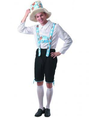 Pretzel Oktoberfest Lederhosen Costume for Men