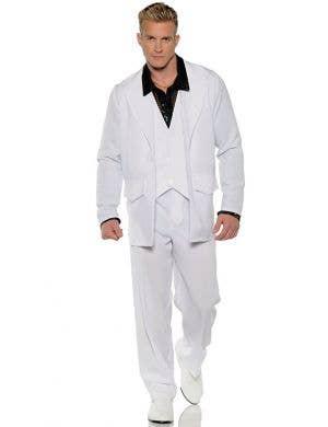 Hustle Men's Plus Size Saturday Night Fever Disco Costume