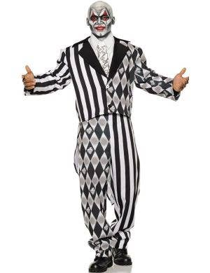 The Jester Men's Tuxedo Halloween Costume