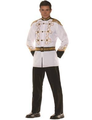 Prince Charming Men's Storybook Fancy Dress Costume