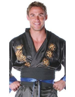 Samurai Men's Plus Size Japanese Warrior Costume