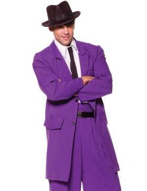 1940's Men's Purple Zoot Suit Plus Size Costume