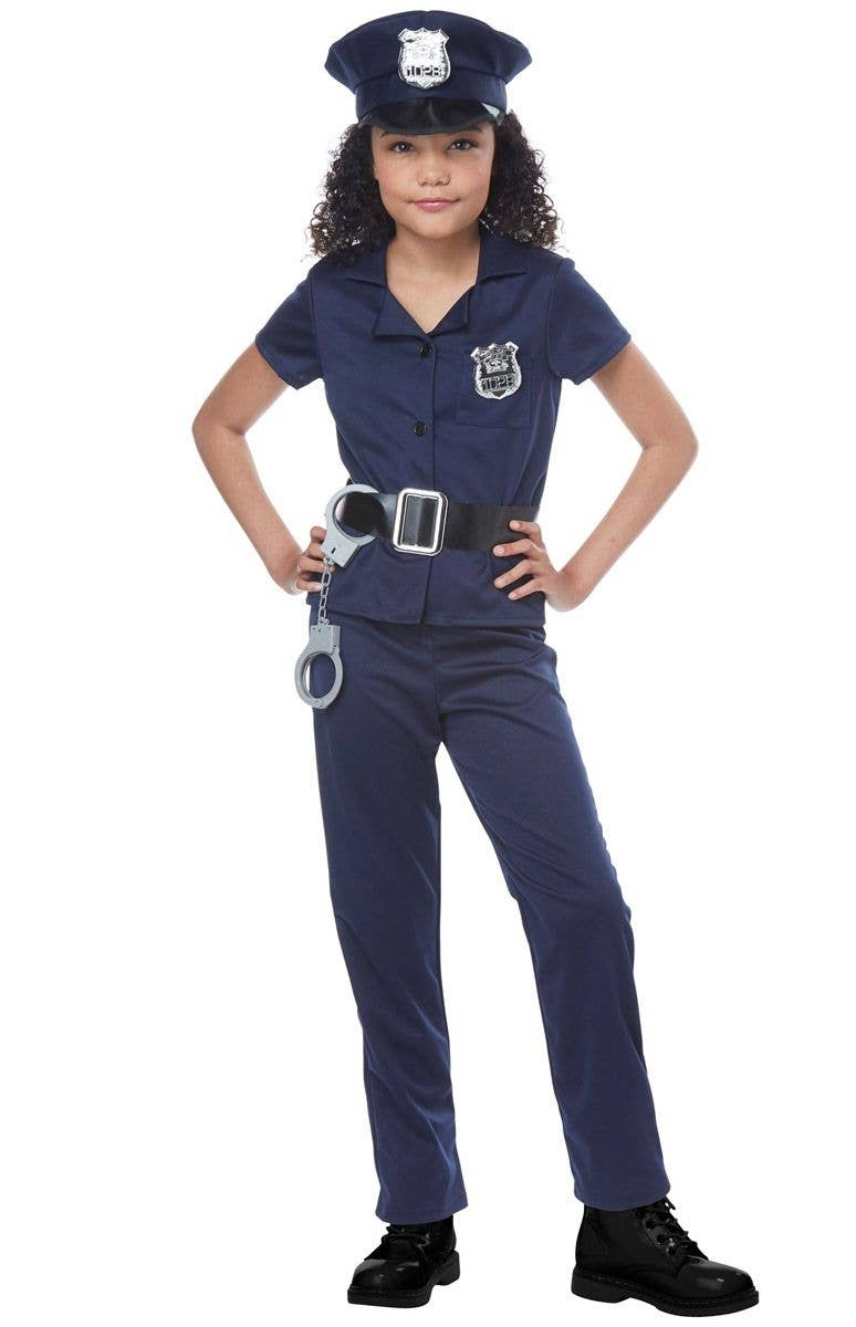 c501abb5429 Cute Cop Girls Police Officer Costume