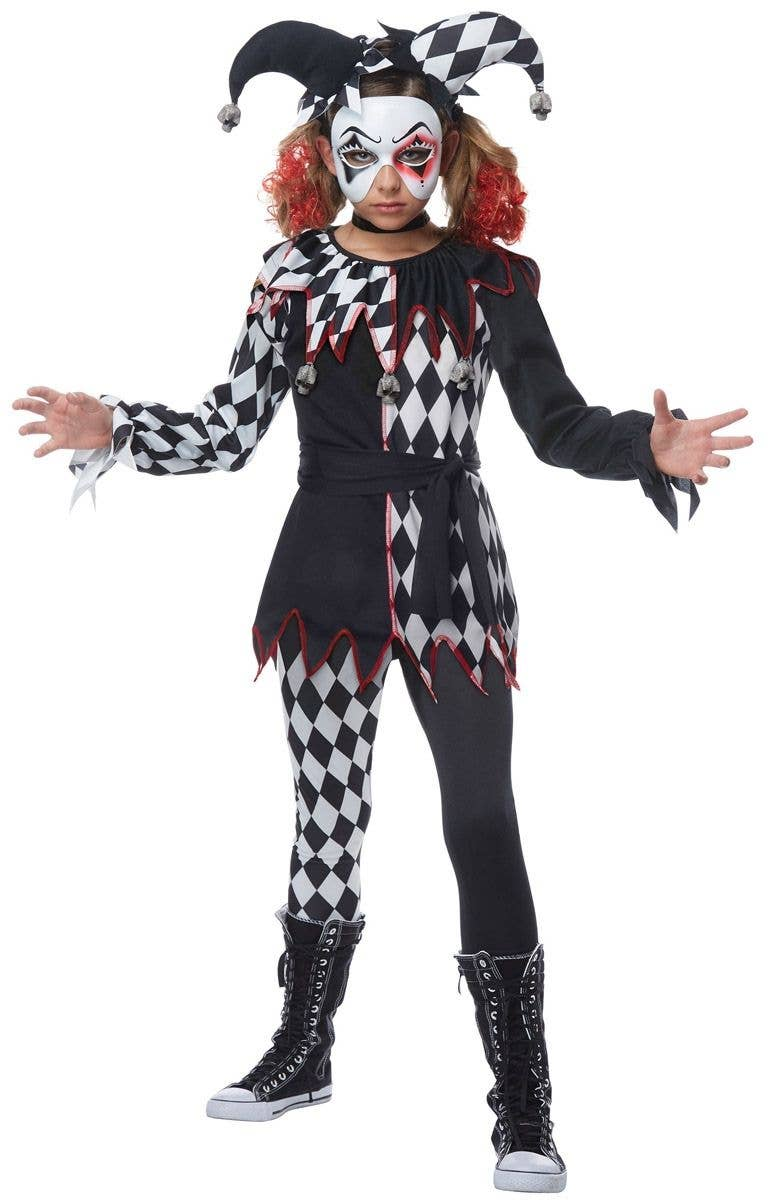 Kids Jester Halloween Costume