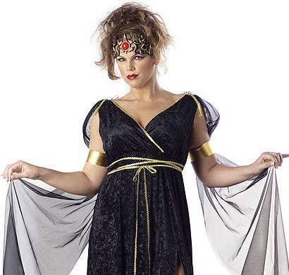 af50d57cd123d More Views of Plus Size Women s Medusa Costume