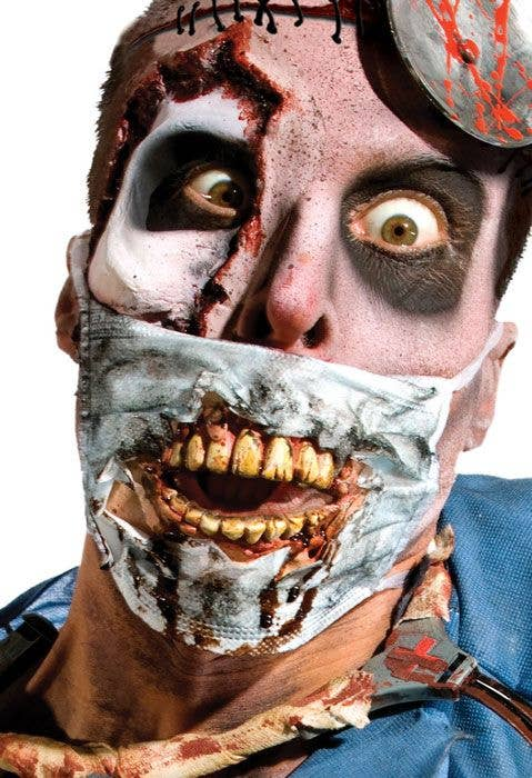 Zombie Face Mask Blood Splattered Surgical Mask