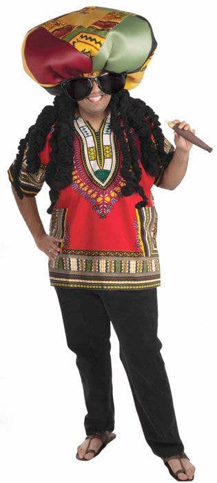 Men S Ridiculous Rasta Jamaican Costume Men S Costumes