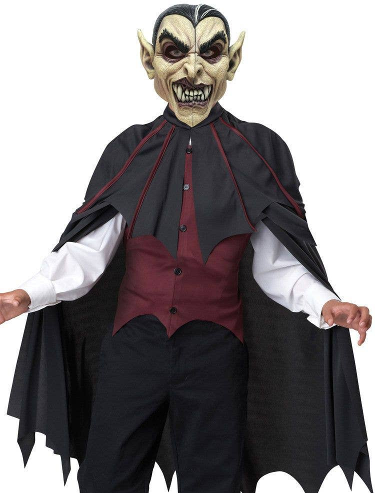 Halloween Vampire Costume Kids.Bloodthirsty Vampire Boys Halloween Costume