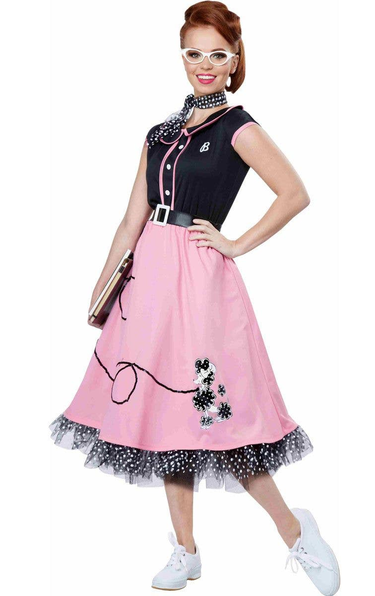 1622854a2516 Women's Retro 1950's Costume | 50's Sweetheart Poodle Skirt Costume