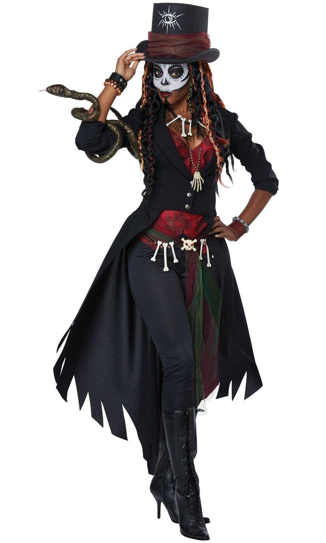 Voodoo Magic Women's Fancy Dress Costume | African Witch ...