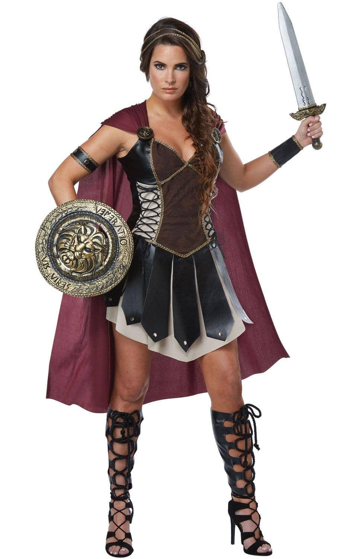 Glorious Gladiator Women s Warrior Fancy Dress Costume Main Image ... 6bbbed39b0