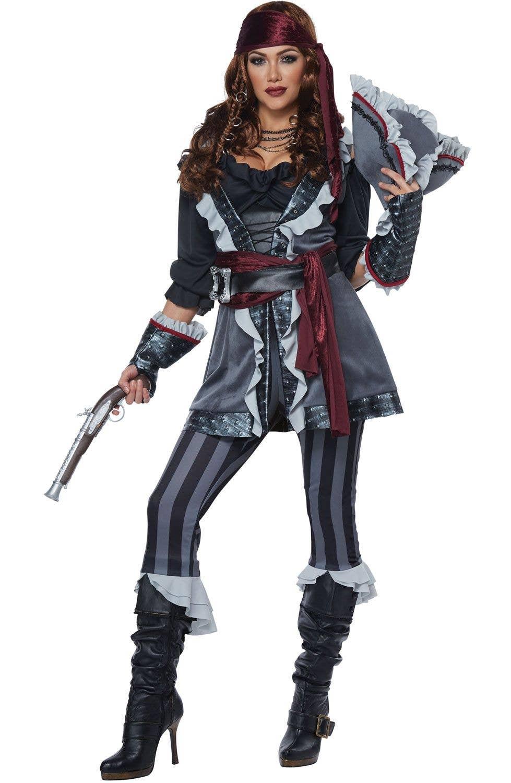 Womens sexy pirate costume