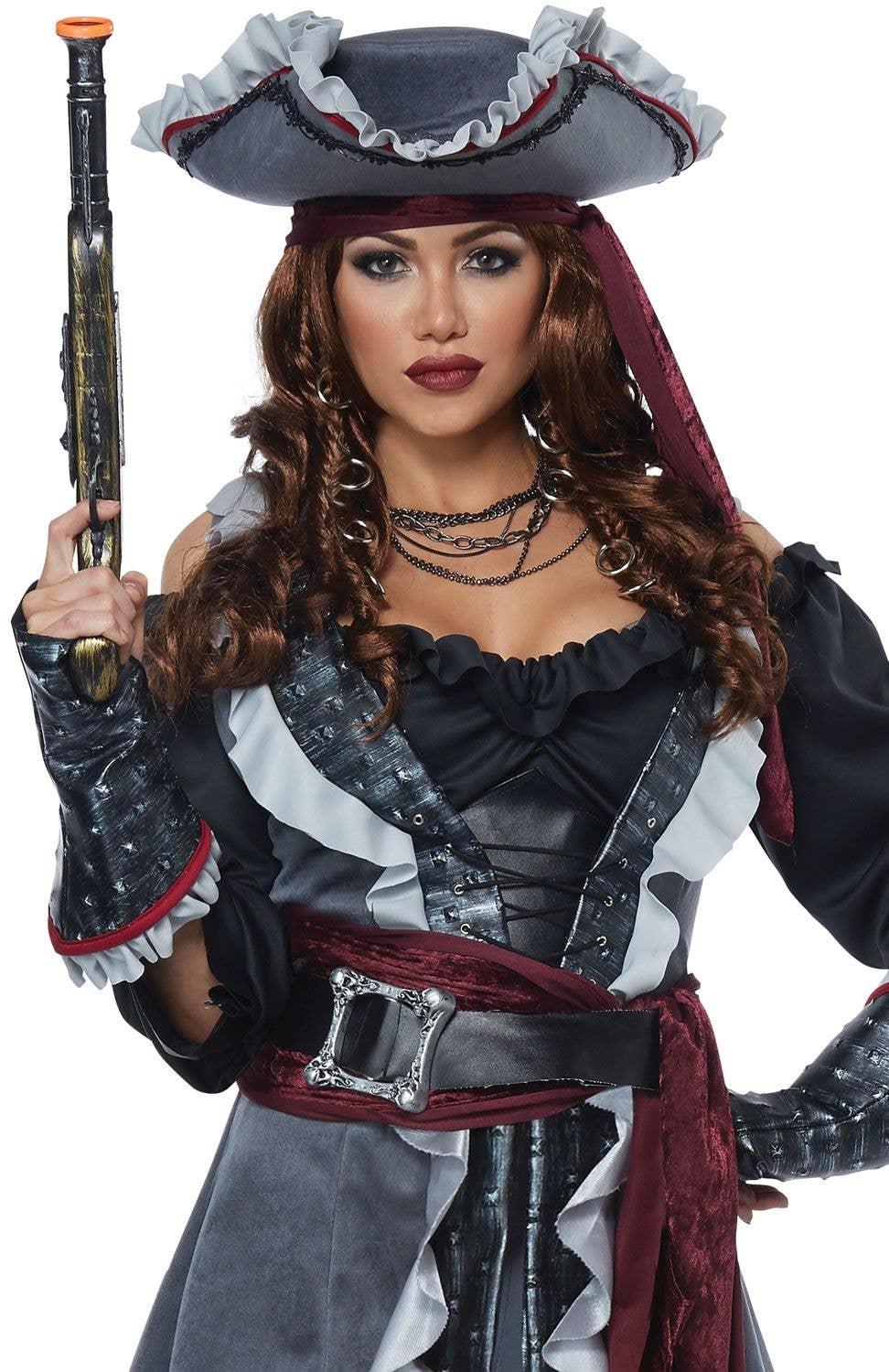 Captain Blackheart Women s Sexy Pirate Costume Close Image a6c26113a3a5