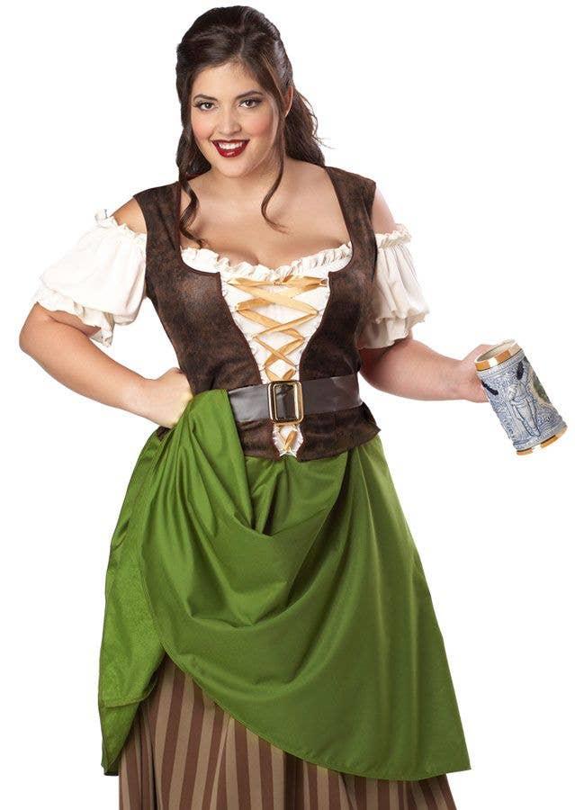 Tavern Maiden Plus Size Women\'s Costume