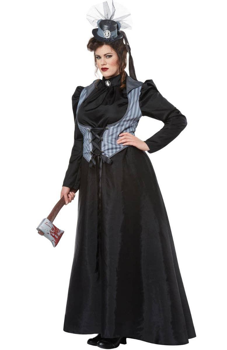 lizzie borden halloween costume | plus size axe murderer costume