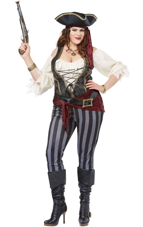 Brazen Buccaneer Plus Size Women's Pirate Costume