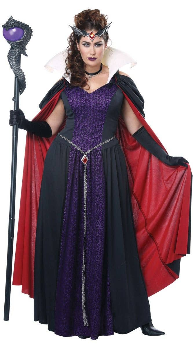 Evil Storybook Queen Maleficent Plus Size Women S Costume