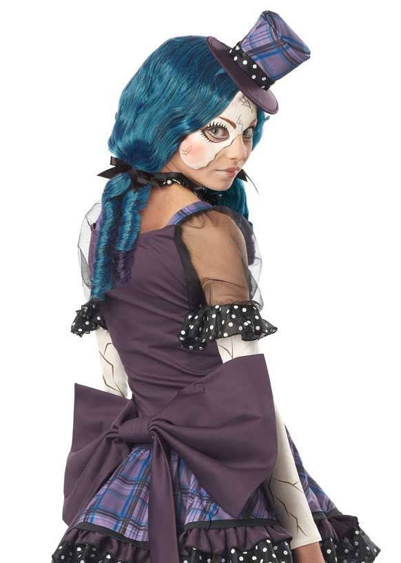 9c527c4454a Broken Doll Teen Girls Halloween Costume Back Image