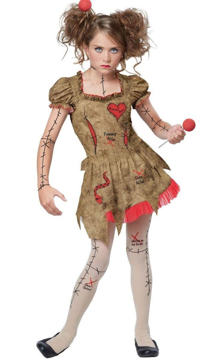 tween voodoo doll girls costume | voodoo dolly halloween costume