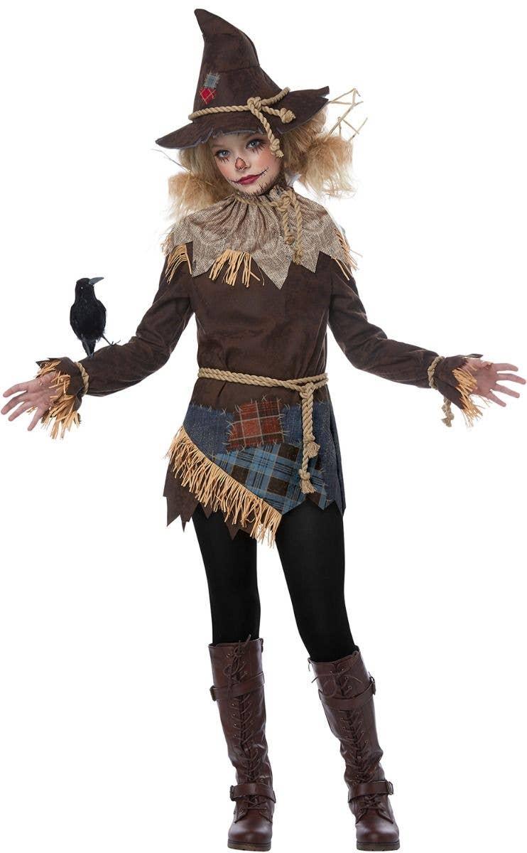 creepy scarecrow girls costume | teen girls halloween costume