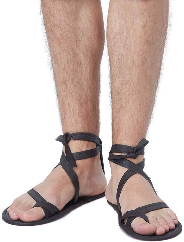 c43bde8cc3bc Strappy Men s Roman Dress Up Costume Sandals