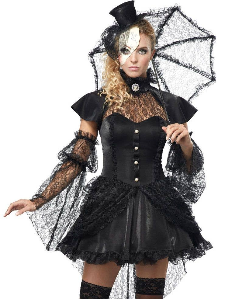 evil doll halloween costume | victorian doll fancy dress costume
