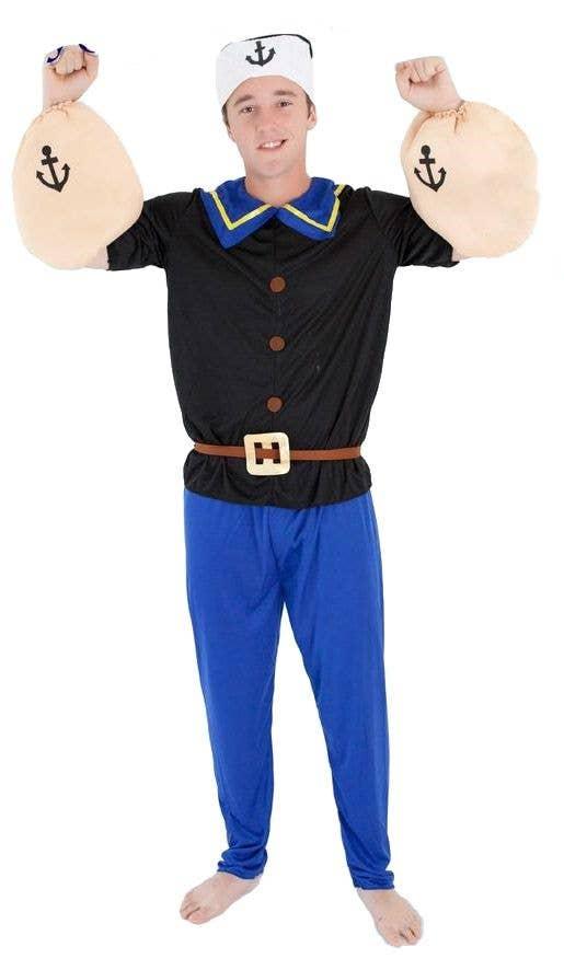 0c5719088cd Popeye the Sailor Man Adult's Costume
