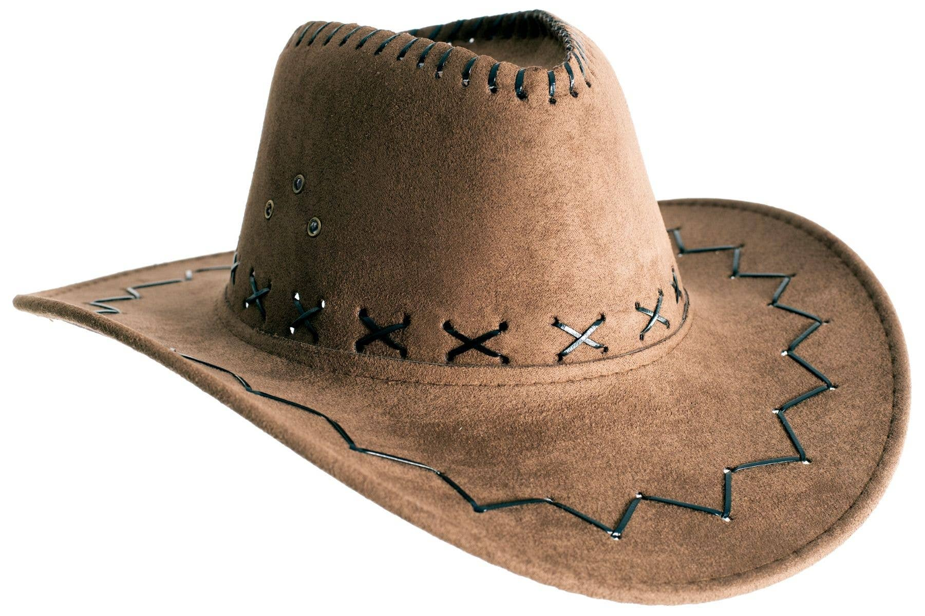 RED OUTBACK WILD WEST COWBOY ADULT MENS HAT COSTUME ACCESSORY