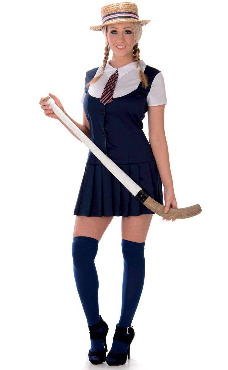 2d83e25519085 Preppy Schoolgirl Sexy Women's Costume