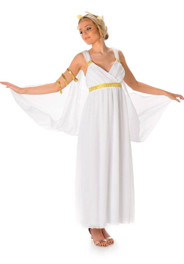 Greek Goddess Women s Fancy Dress Costume Main Image 57c6b2bbe
