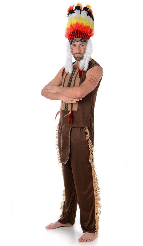 Village People Men S Indian Costume American Indian Men