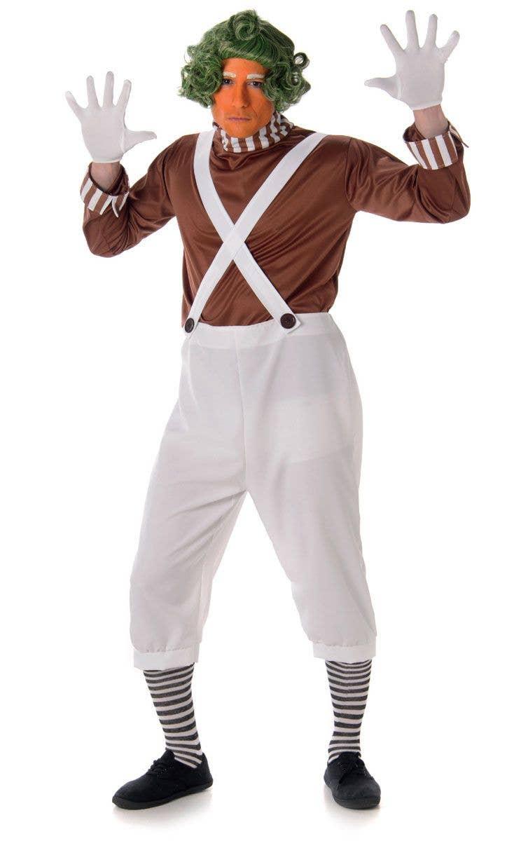 Menu0027s Brown Candy Maker Costume Main Image