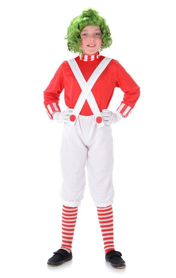 Oompa Loompa Boys Fancy Dress Costume Main Image  sc 1 st  Heaven Costumes : childrens wheres wally costume  - Germanpascual.Com