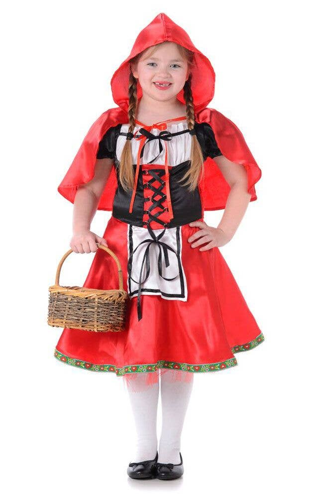 Little Red Riding Hood Girls Fancy Dress Costume Main Image 8f4aa58cb