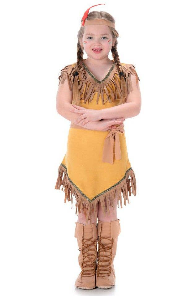 94cf0fbb491 Pocahontas Girl's Native American Indian Costume