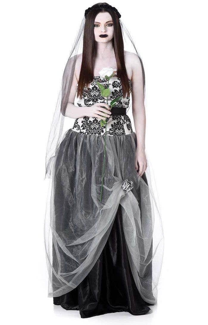 Halloween Bride.Gothic Dead Bride Women S Halloween Costume