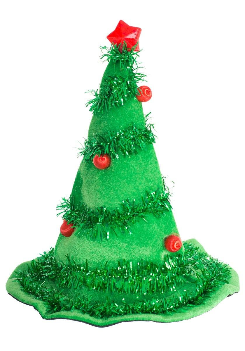 Adult S Xmas Tree Light Up Costume Hat Light Up