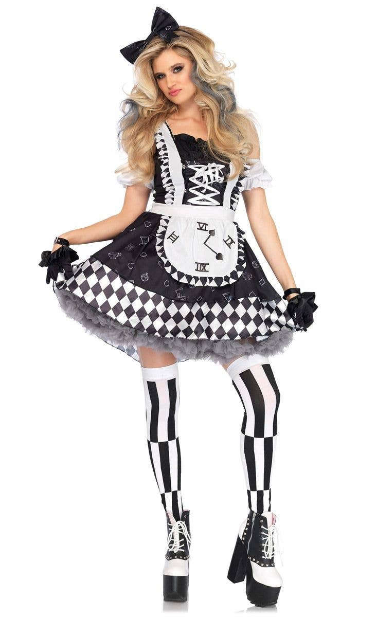 0f9929ba8f8 Dark Wonderland Alice Women's Halloween Costume