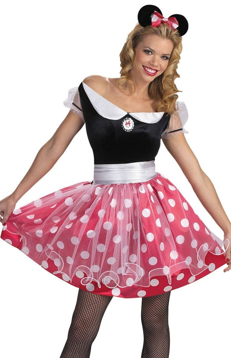Minnie Mouse Womens Disney Costume Cute Minnie Mouse Costume