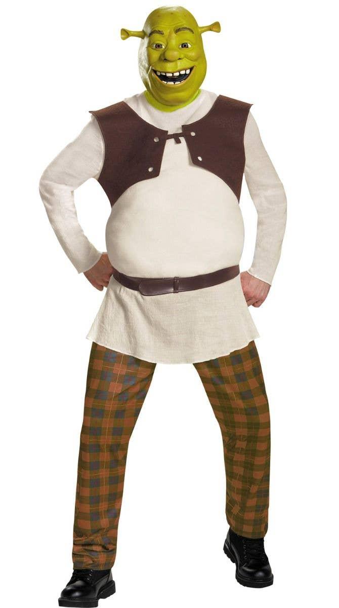 Swamp Ogre Shrek Men\'s Costume   Shrek The Ogre Fancy Dress ...