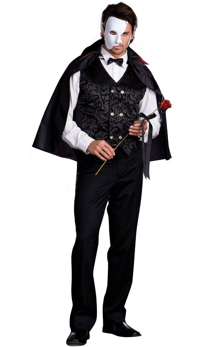 04e1466637b6b Mysterious Phantom Adult Costume | Phantom of The Opera Costume