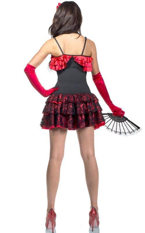52fe4aa1b722 Spanish Senorita Costume   Spanish Flamenco Sexy Women's Costume