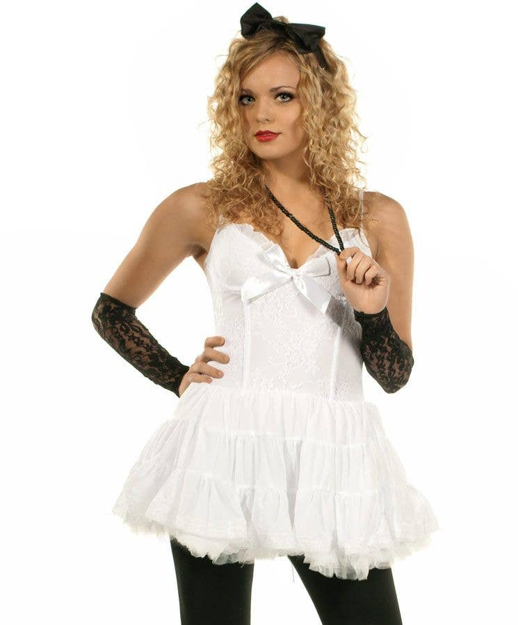 7a9917158f1f 80u0027s Material Girl Womenu0027s Madonna Costume Close Up Sc 1 St Heaven  Costumes