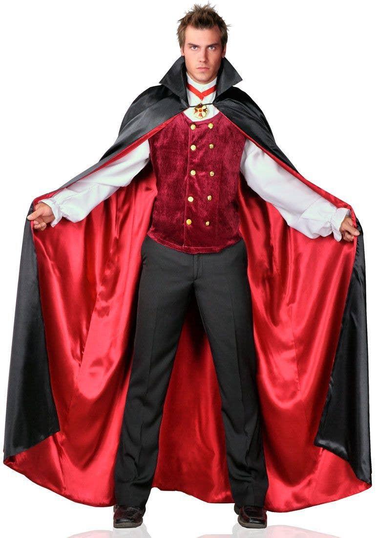 men's count bloodthirst vampire costume | vampire halloween costume