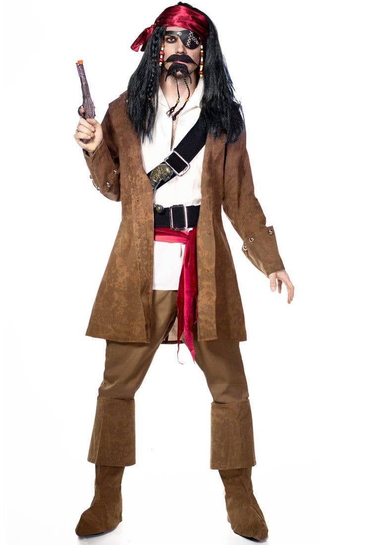 3ea844a42db Captain Jack Men's Pirate Costume