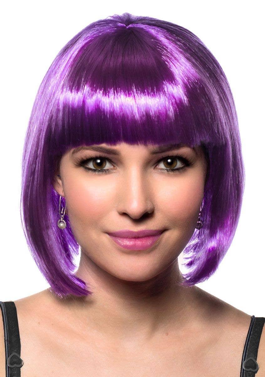 More Views of Purple Bob Women s Wig 2fff40a6a